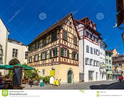 Konstanz Germany Map by View Of Konstanz City Center Germany Stock Photo Image 46487431