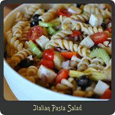 recipe u2014italian pasta salad diva di cucina