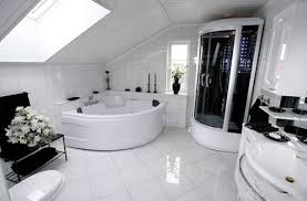White Black Bathroom Ideas Pueblosinfronterasus - Bathroom designs black and white