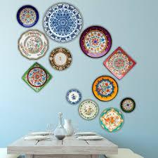 gallery wall ideas awesome spanish ceramic wall plates modern ceramic ceramic wall