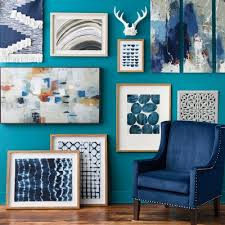 Wall Décor Collection Fall Blues Tar