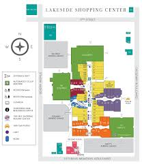 Hanes Mall Map Stores Lakeside Shopping Center
