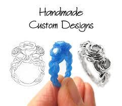 custom design rings images Handmade custom designed rings design your own engraved jpg