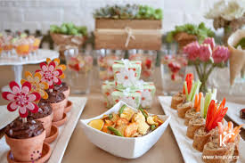 Christmas Party Food Kids - garden inspired gourmet menu for a sweet 16 party from kreavie