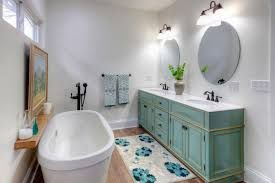 Gray Purple Bathroom - rooms viewer hgtv
