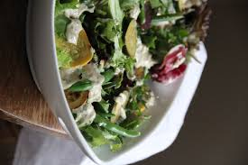 courgette green bean salad