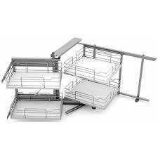 meubles angle cuisine amenagement meuble de cuisine panier coulissant pour meuble de 50