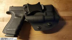 iwb light bearing holster armslist for sale glock 19 iwb light bearing holster