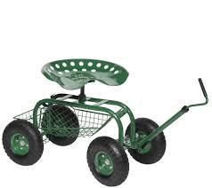 Oxo Gardening Chair Scoot N Do Garden Seat Page 1 U2014 Qvc Com