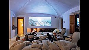 Home Design Basement Ideas Home Design Comfortable Beige Sofa With Vaulted Ceiling For