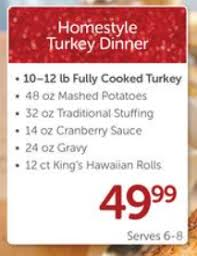 albertsons thanksgiving dinner specials the best dinner in 2017