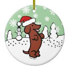 wiener dog ornaments u0026 keepsake ornaments zazzle