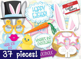 easter photo props mega pack easter photo booth props printable 37