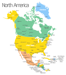 united states of america map with states and cities america map with capitals template geo map united
