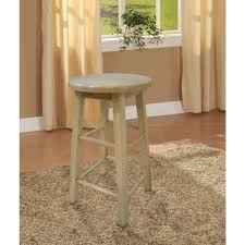 linon home decor 24 in round wood bar stool 98100nat 01 kd the