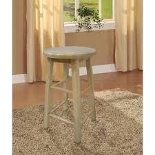 linon home decor linon home decor 24 in round wood bar stool 98100nat 01 kd the