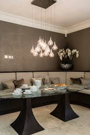 et2 lighting in dining room contemporary with kitchen bench