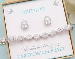 bridesmaid jewelry gifts bridesmaids gifts etsy nz