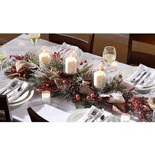 Christmas Berry Table Decoration by 55 Best Winter Table Centerpieces Images On Pinterest Christmas