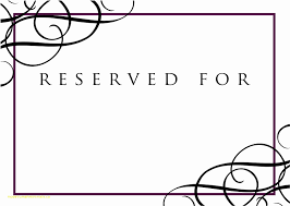 printable reserved table signs top result reserved seating signs template elegant printable