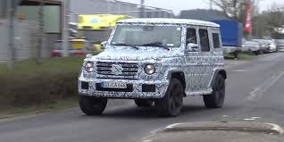 images of mercedes g wagon the mercedes g class will independent suspension for the
