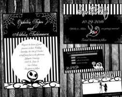 Nightmare Before Christmas Wedding Invitations Game Of Thrones Wedding Invitation Save The Date Rsvp And