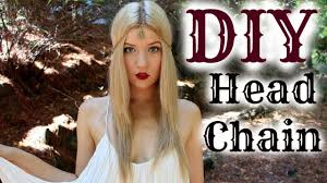 reign tv show hair beads diy chain head piece tutorial inspired by cw s reign youtube