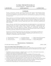 ideas collection cover letter for fashion merchandising job for