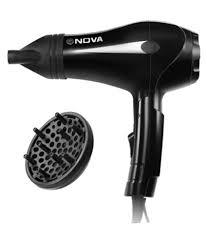 Hair Dryer Buy India nhp 8201 professional 1600 w hair dryer black buy nhp