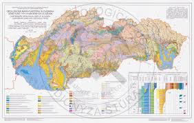 Map Of East Coast States Geological Maps Sgidš State Geological Institute Of Dionýz štúr