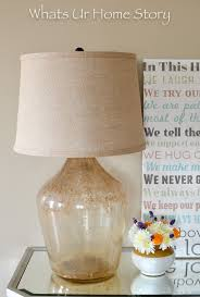 How To Make A Lamp Shade Chandelier Diy Demijohn Lamp Whats Ur Home Story