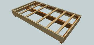 Basic Platform Bed Frame Plans by Box Bed Frame Plans Plans Diy How To Make Platform Beds Box Bed