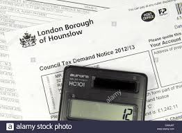 Westminster Council Tax Leaflet Council Tax Bill Stock Photos Council Tax Bill Stock Images Alamy