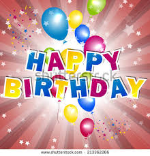 happy birthday lettering text stock vector 544599001 shutterstock