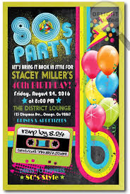 Partystore Com General Birthday Lets Best 25 1980s Party Invitations Ideas On Pinterest 80s Theme