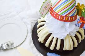 you still deserve a birthday featuring nothing bundt cakes