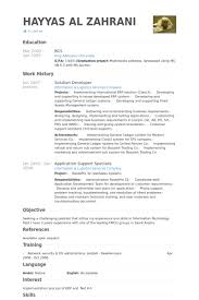 Sample Resume Net Developer by Solution Developer Resume Samples Visualcv Resume Samples Database