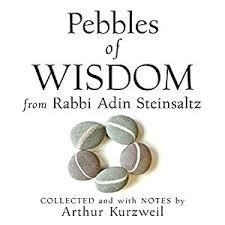 adin steinsaltz books pebbles of wisdom from rabbi adin steinsaltz