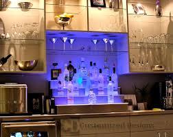 led lighted bar shelves bar shelves designs brilliant shelving for home commercial bars led
