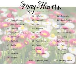 List Of Flowers by Planet Plan It Letter Challenges U2013 Neta Marie Designs