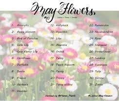 List Of Flowers by Planet Plan It Letter Challenges U2013 Neta Marie Designs