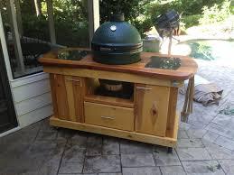 Green Egg Table by Big Green Egg Table 3 By Todd Adair Lumberjocks Com