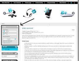left sidebar hikashop how to display login form into the left sidebar hikashop