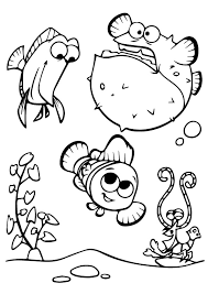 printable finding nemo coloring pages kids coloringstar