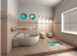 themed tiles bathroom ideas rustic themed bathroom with built in bathtub