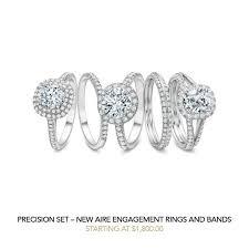 precision set rings precision set engagement wedding rings