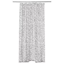 Ikea White Curtains Inspiration Inspiring Blekviva Shower Curtain Ikea Gray For Grey And White