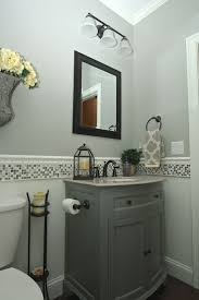 Two Tone Walls With Chair Rail Bathroom Chair Rail Best Bathroom Decoration