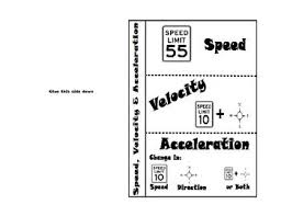 Speed Velocity And Acceleration Calculations Worksheet Answers 101 Best And Motion Images On Teaching Science