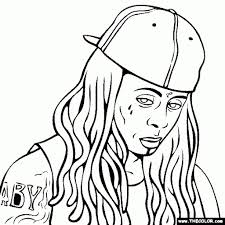 ideas collection lil wayne coloring pages for summary